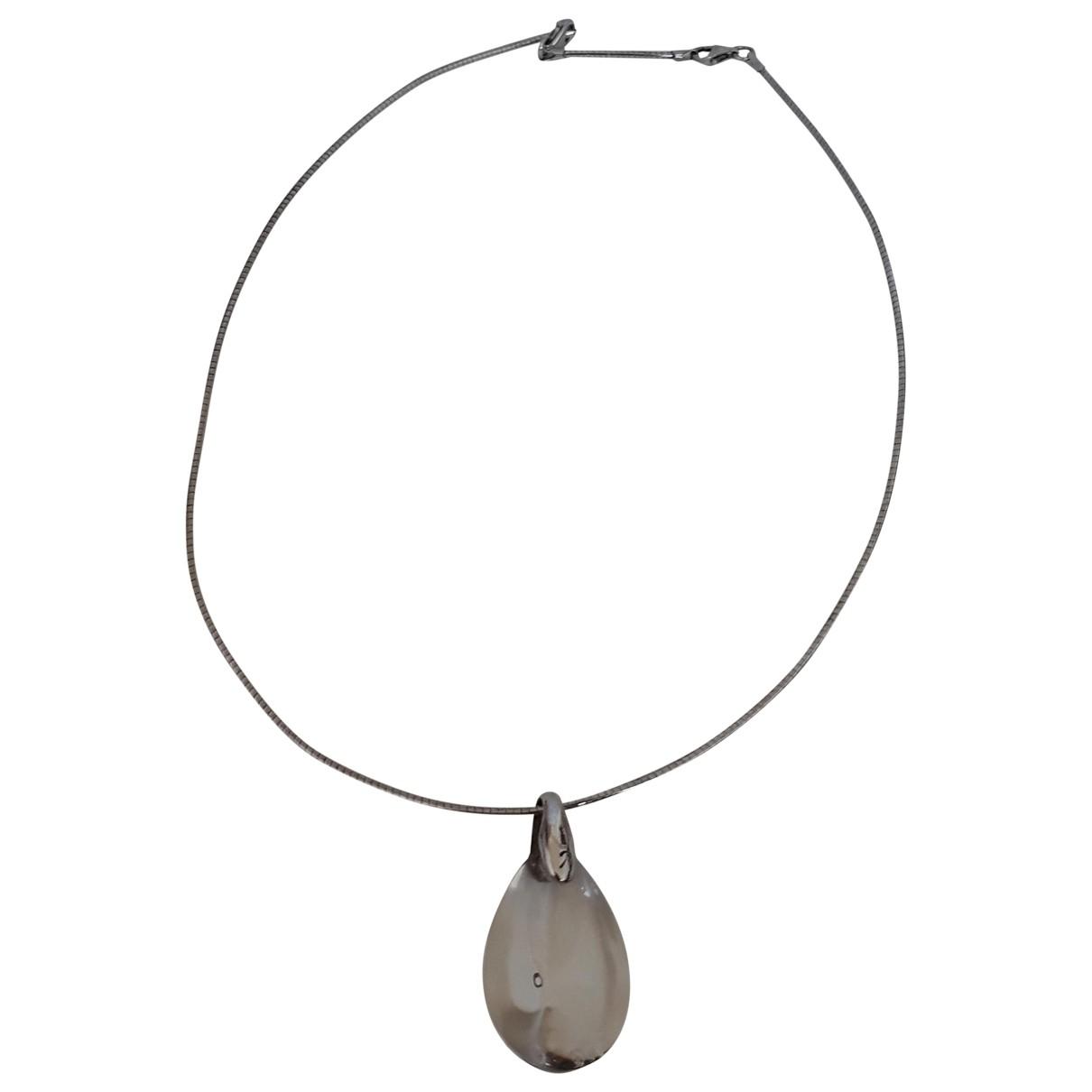 Baccarat \N Metal necklace for Women \N