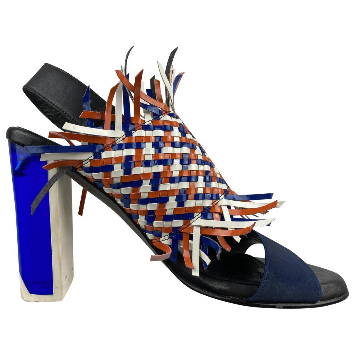 Miista - Sandales   pour femme en cuir - multicolore