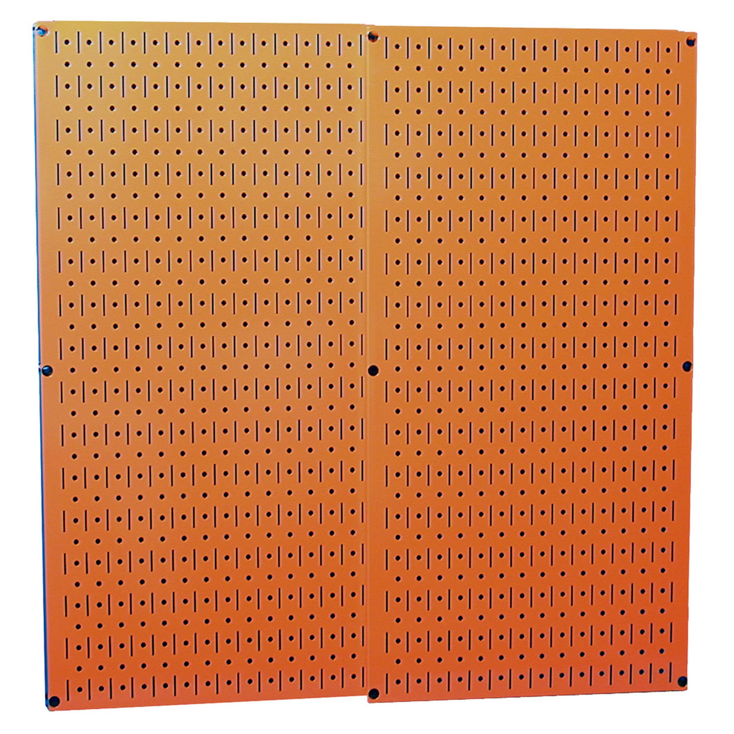 Orange Metal Pegboard Pack - Two Pegboard Tool Boards