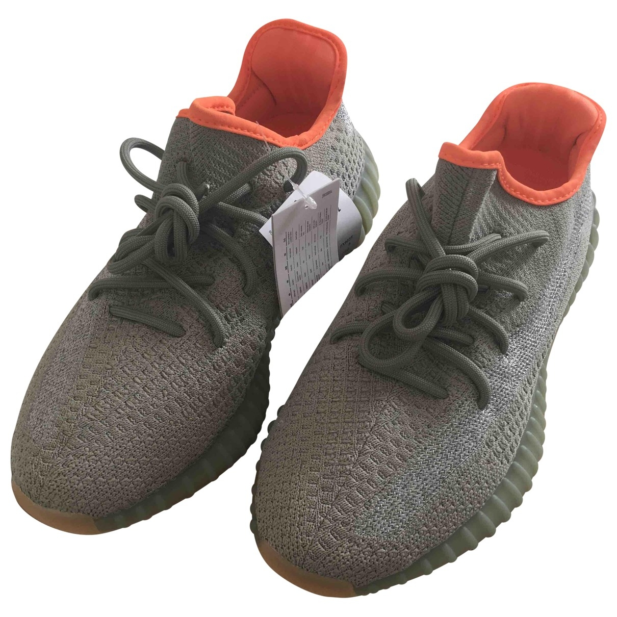 Yeezy X Adidas Boost 350 V2 Grey Cloth Trainers for Men 42 EU