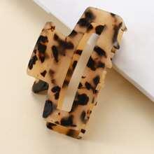 Leopard Pattern Hair Claw