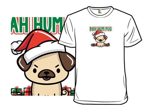 Merry Pugmehs T Shirt