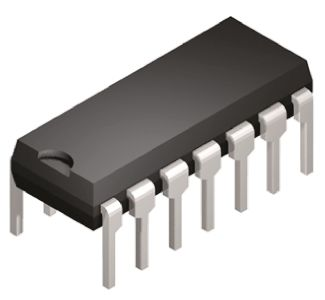 Texas Instruments CD74HC11E, Triple 3-Input AND Logic Gate, 14-Pin PDIP (25)