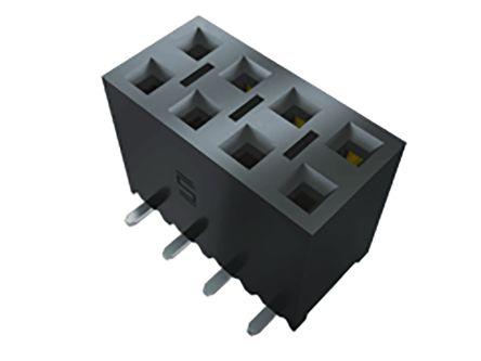 Samtec , SSM 2.54mm Pitch 24 Way 2 Row Vertical PCB Socket, Surface Mount, Solder Termination (18)