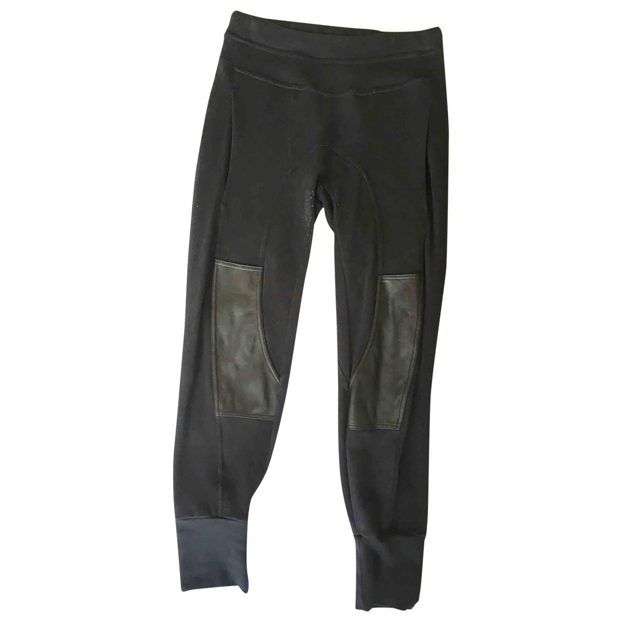 Neil Barrett \N Black Cotton Trousers for Men XS International