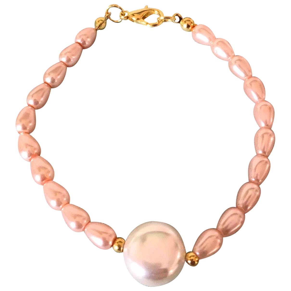 - Bracelet   pour femme en metal - blanc