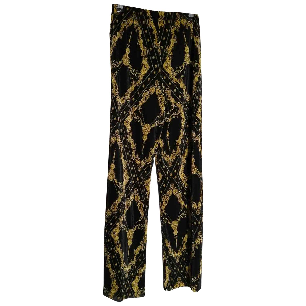 Non Signé / Unsigned \N Multicolour Trousers for Women 8 UK