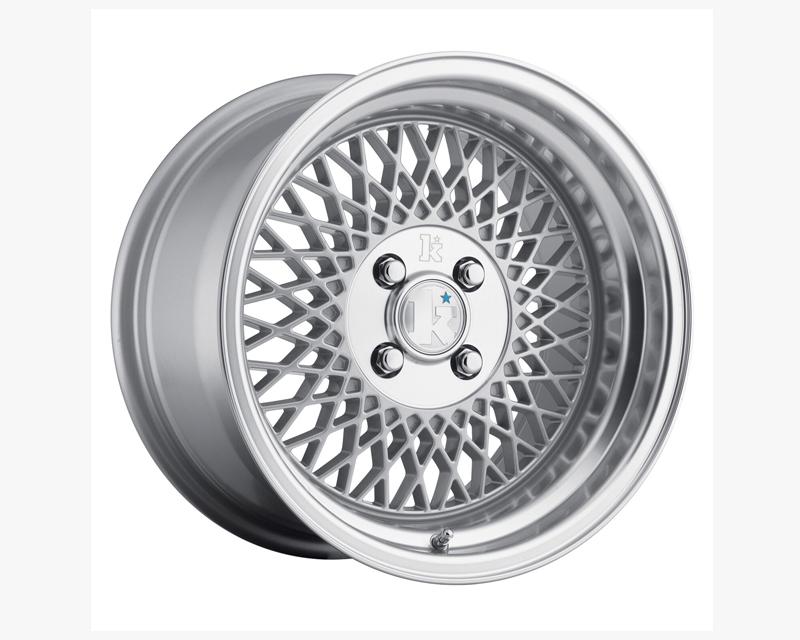 Klutch Silver SL1 Wheel 16x9 4x100 18mm