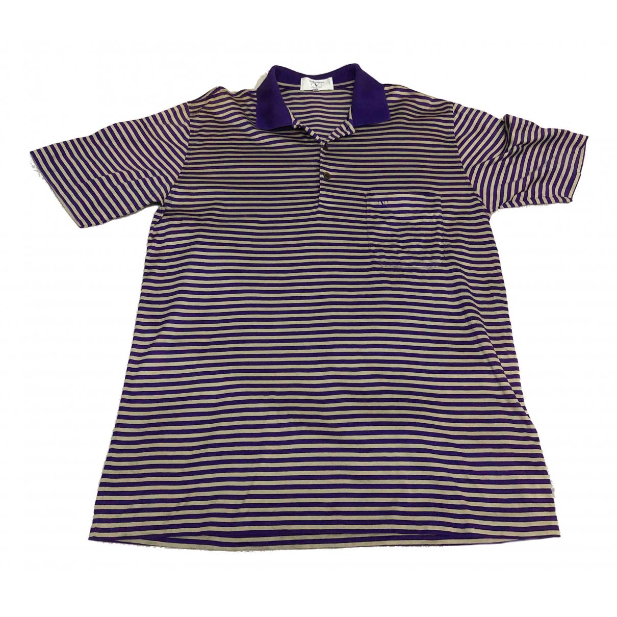 Valentino Garavani \N Purple Polo shirts for Men M International