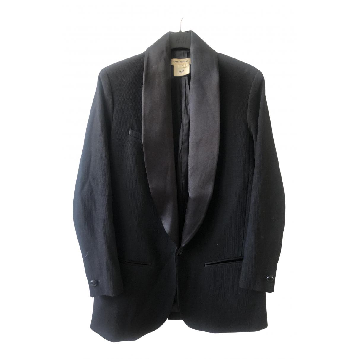 Isabel Marant Pour H&m N Black Wool jacket for Women 34 FR