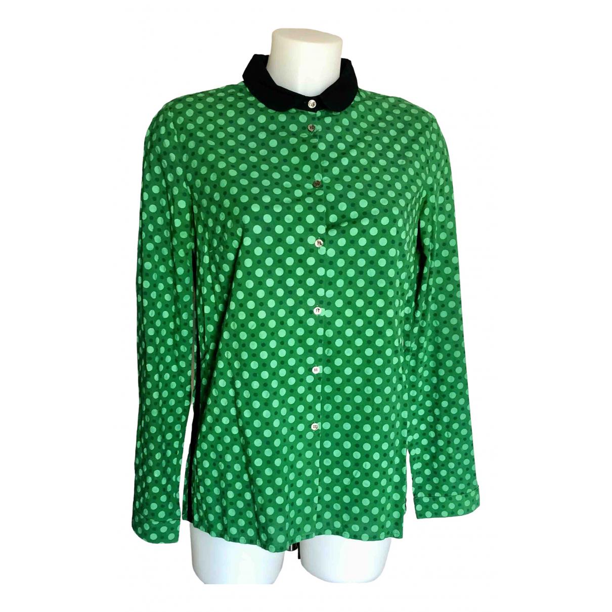 Department 5 - Top   pour femme en coton - vert