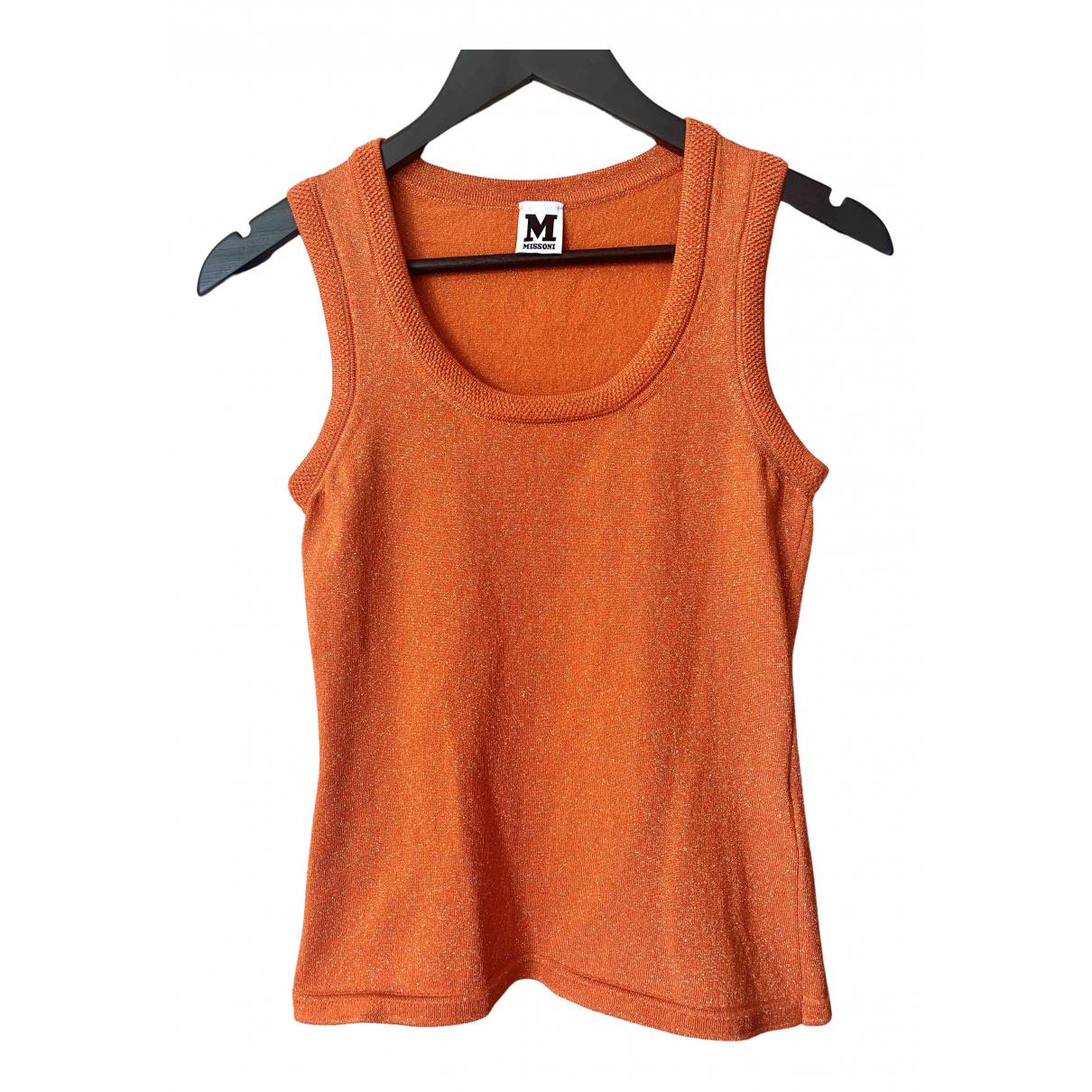 M Missoni N Orange  top for Women 40 IT