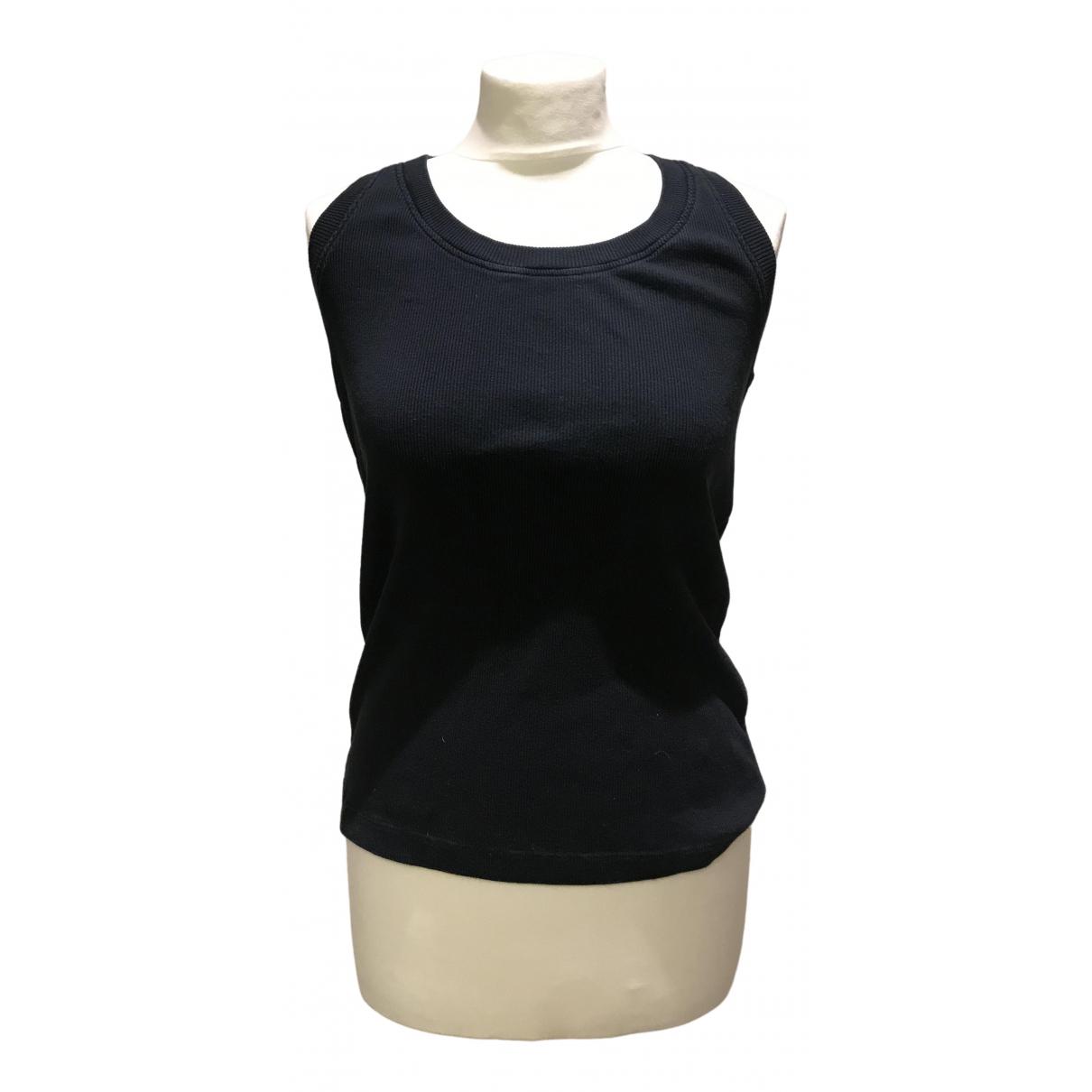 Maison Martin Margiela \N Black Cotton  top for Women 40 IT