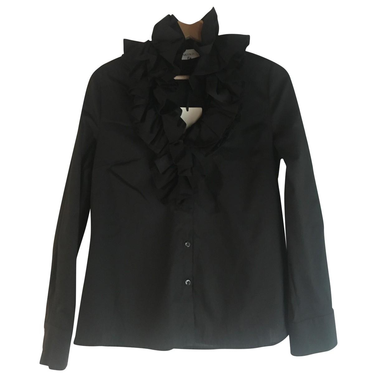 Vicolo \N Black Cotton  top for Women S International