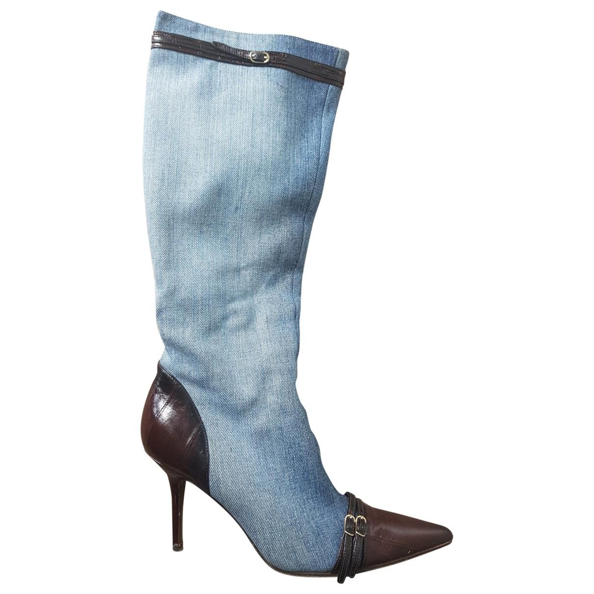 Botas de Lona Dolce & Gabbana