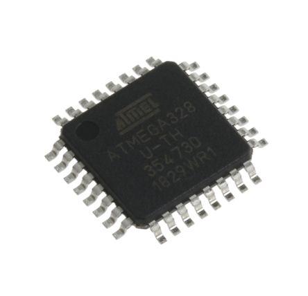 Microchip ATMEGA328-AUR, 8bit AVR Microcontroller, ATmega, 20MHz, 32 kB Flash, 32-Pin TQFP (5)