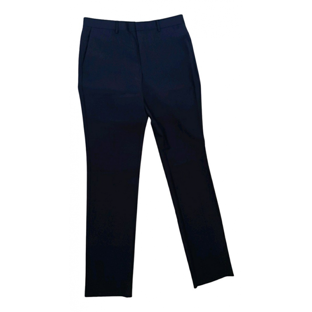 Givenchy N Navy Wool Trousers for Men 48 IT