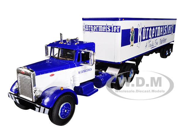 Peterbilt 351 Day Cab with 40 Vintage Trailer
