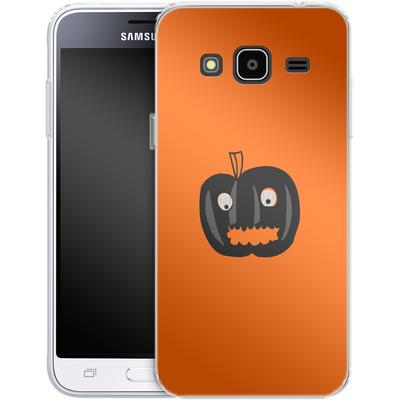 Samsung Galaxy J3 (2016) Silikon Handyhuelle - Pumpkin Monster von caseable Designs