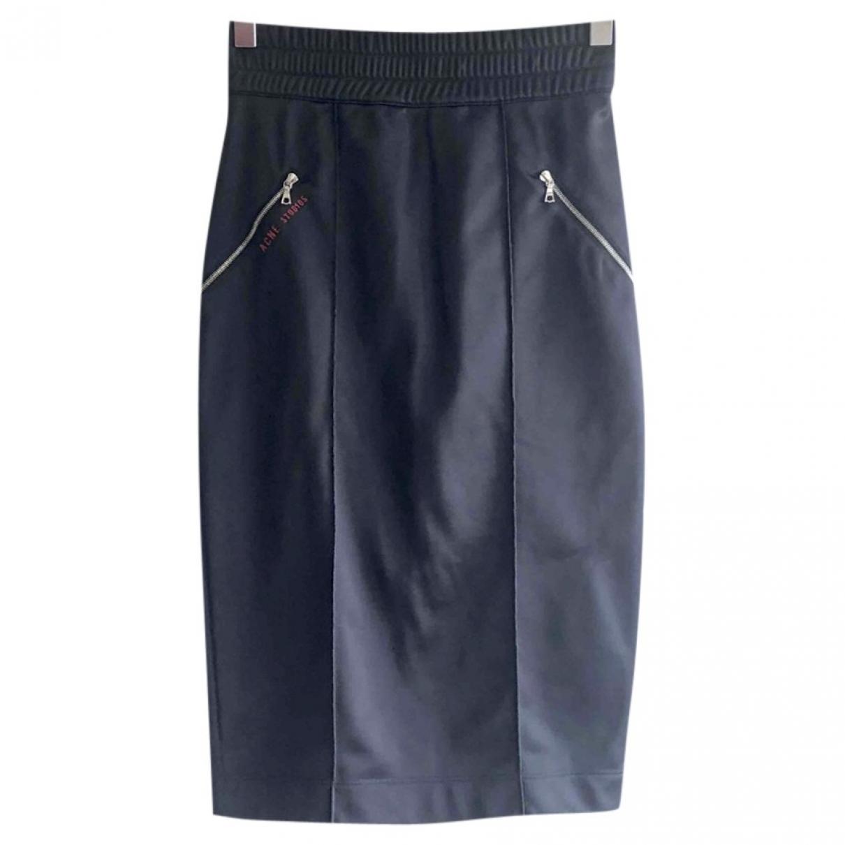 Acne Studios \N Navy skirt for Women XXS International