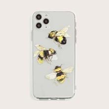 iPhone Schutzhuelle mit Biene Muster