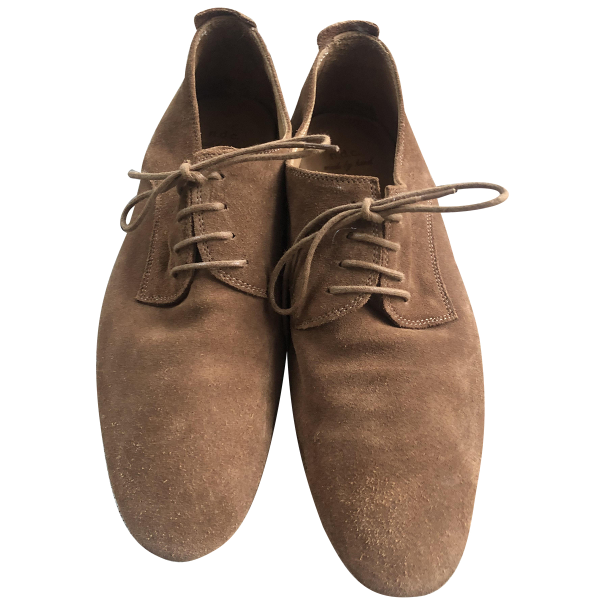 N.d.c. Made By Hand N Camel Leather Lace ups for Women 38 EU