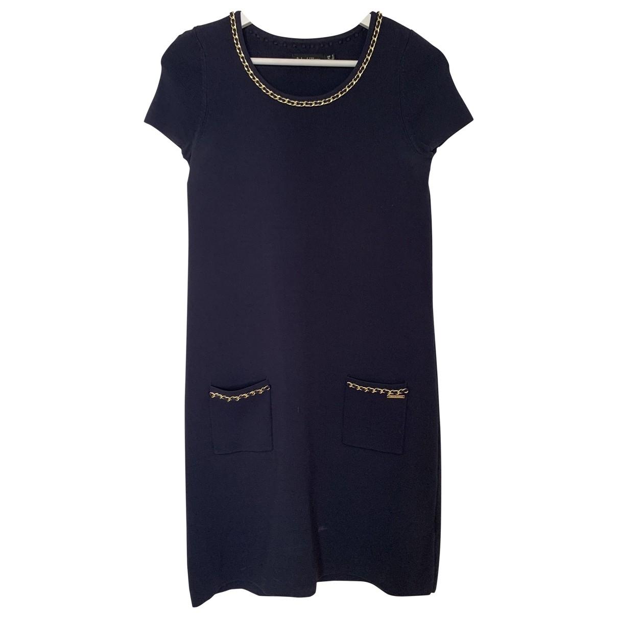 Pedro Del Hierro \N Kleid in  Blau Wolle
