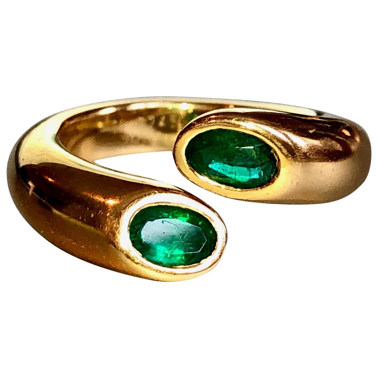 Cartier - Bague   pour femme en or jaune - vert