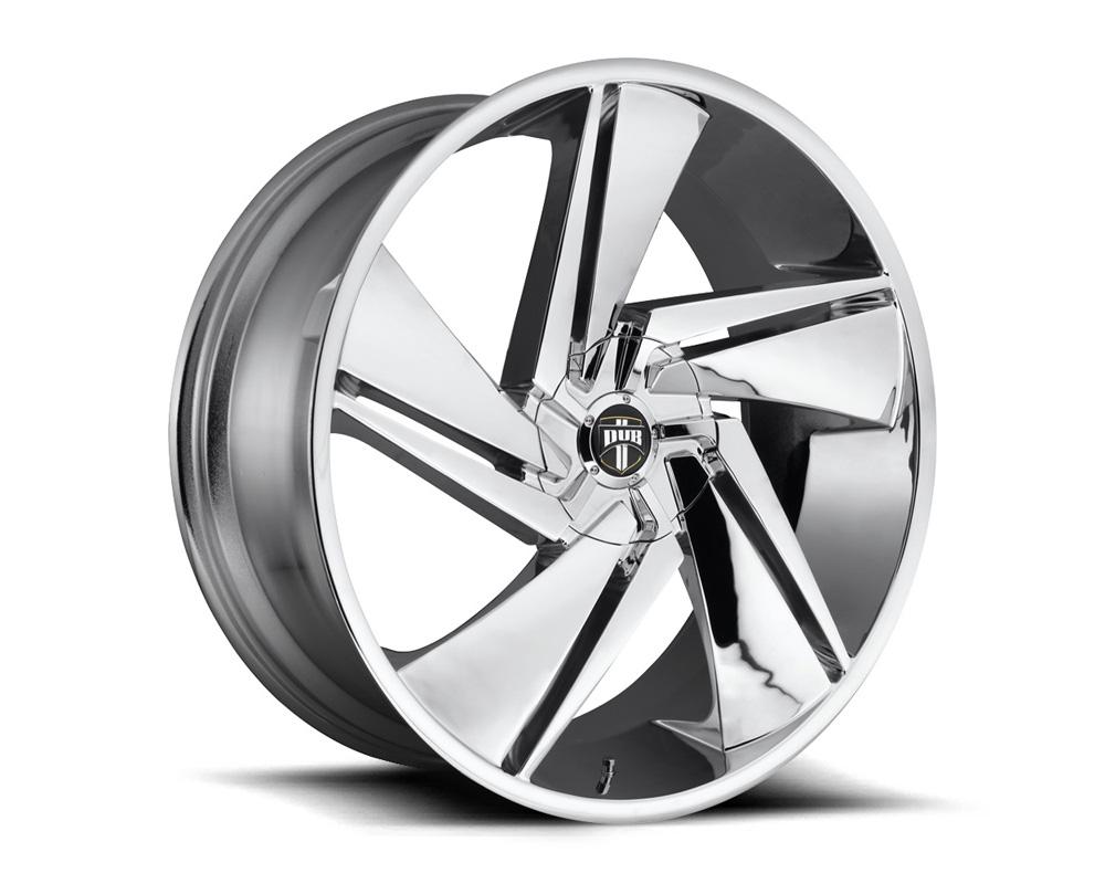 DUB S246 Fade Chrome 1-Piece Cast Wheel 24x10 6x135|6x139.7 30mm
