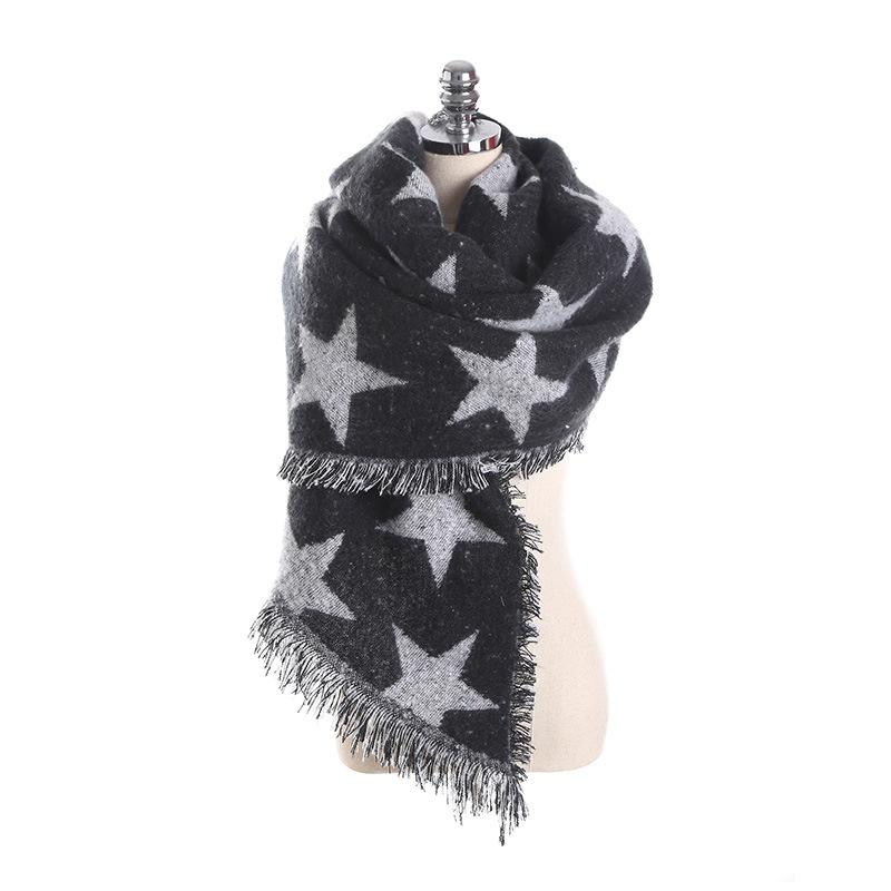 Ericdress Winter Star Warm Scarf