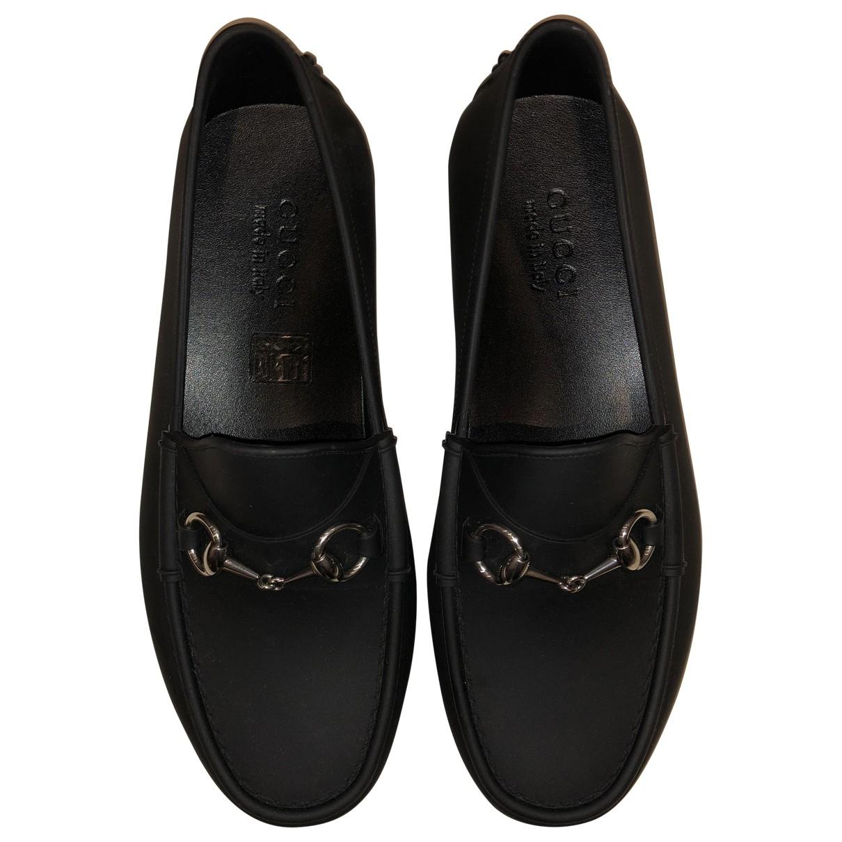 Gucci - Mocassins   pour homme en caoutchouc - noir