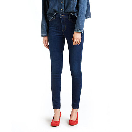 Levi's 720 High Rise Super Skinny Jean, 28 , Blue