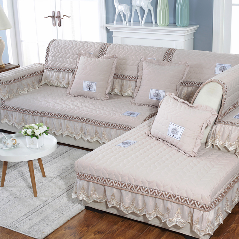 Easy-Going Machine Washable Cotton Modern Style Sofa Covers