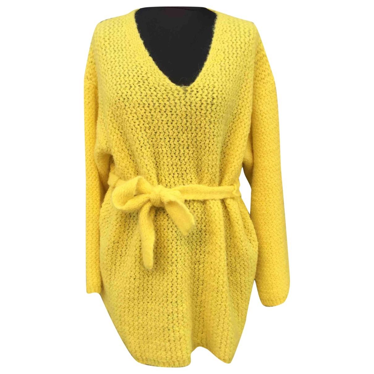 See By Chloe - Pull   pour femme en laine - jaune