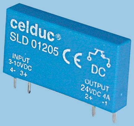 Celduc 2.5 A Solid State Relay, PCB Mount, 32 V Maximum Load