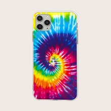 1pc Tie-dye iPhone Case