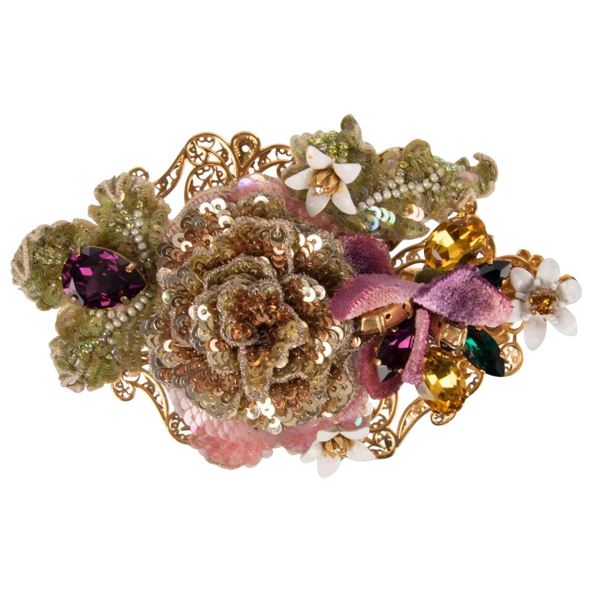 Dolce & Gabbana \N Haarschmuck Gruen