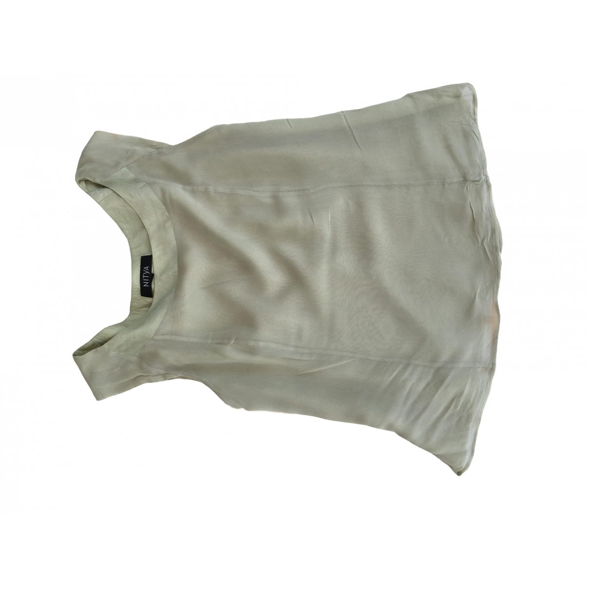 Non Signé / Unsigned \N Green  top for Women 42 FR