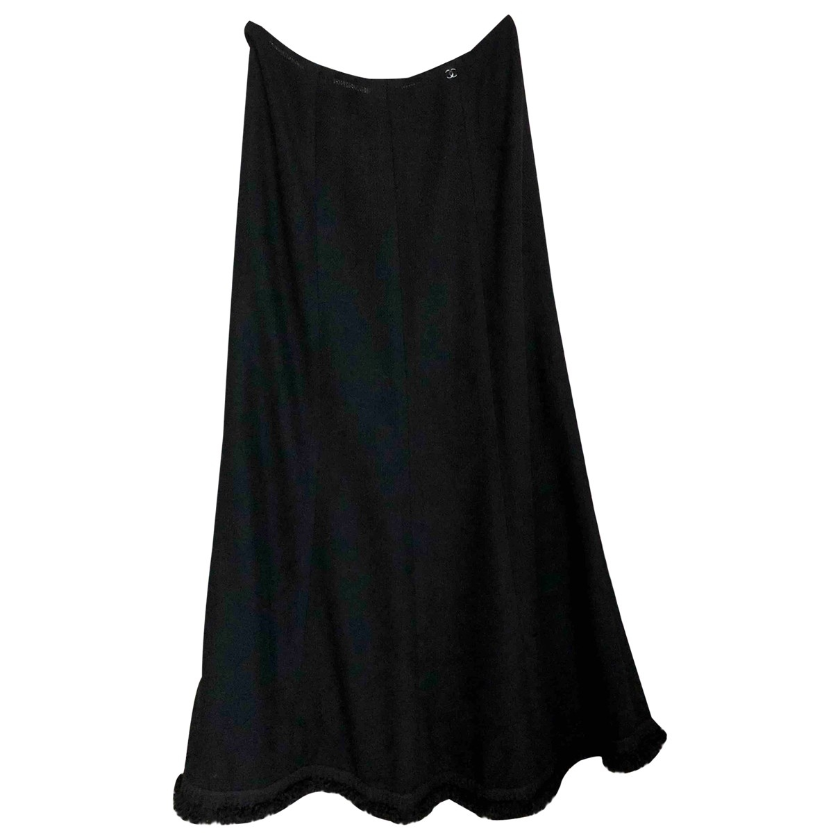 Chanel \N Black Wool skirt for Women 40 FR