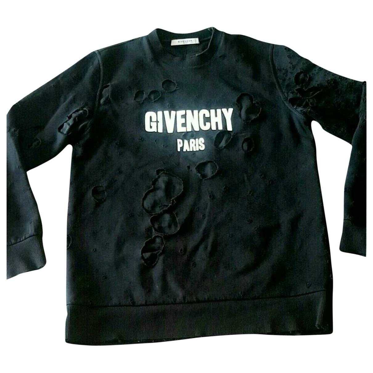 Givenchy \N Black Cotton Knitwear for Women M International