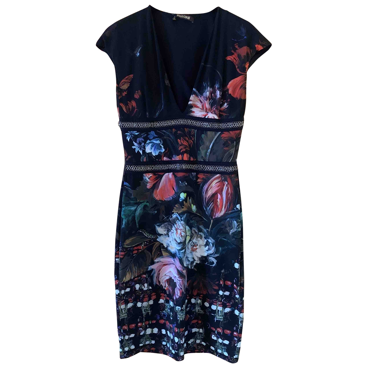 Roberto Cavalli \N Multicolour dress for Women 42 IT