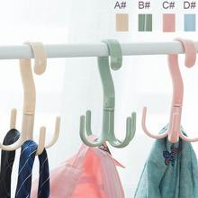 Plastische Kleiderbuegel fuer Schal mit 4 Klauen Design 1 Stueck