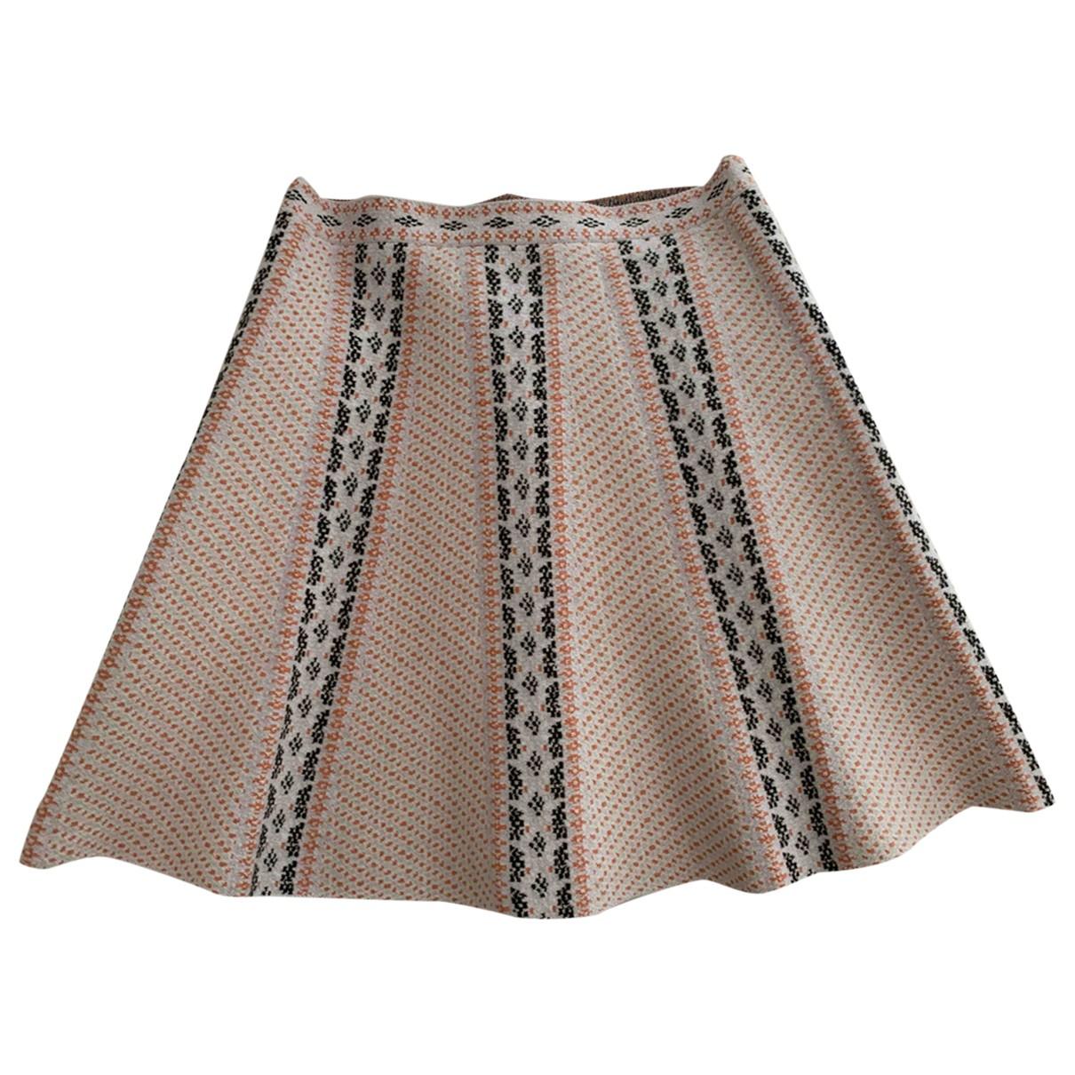 Bcbg Max Azria - Jupe   pour femme en coton - multicolore