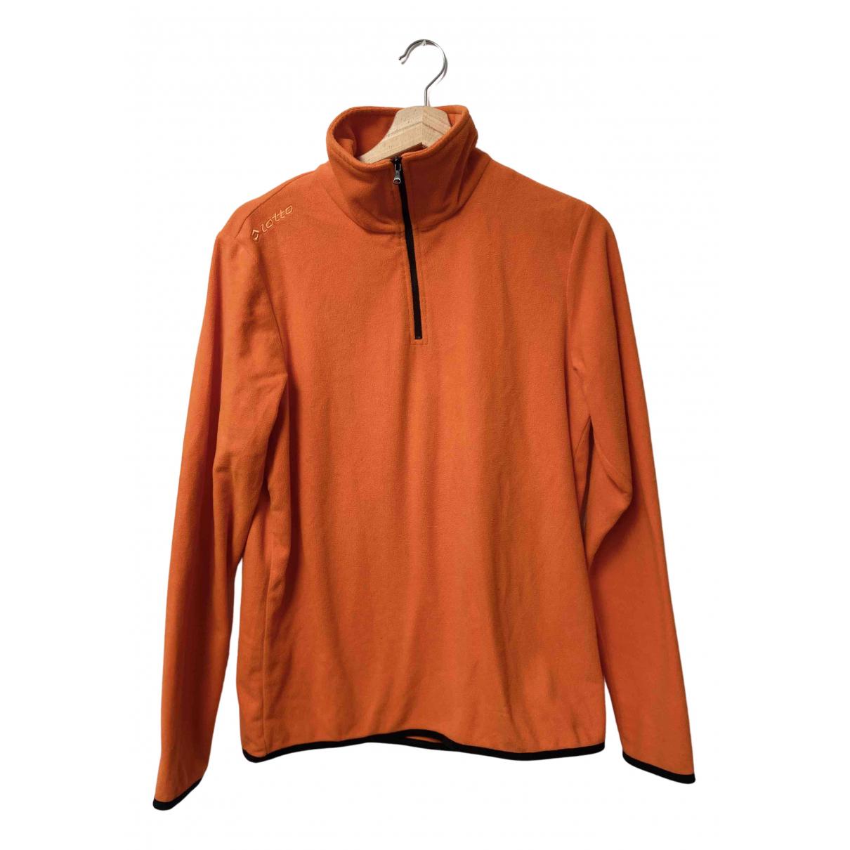 Lotto \N Pullover.Westen.Sweatshirts  in  Orange Polyester