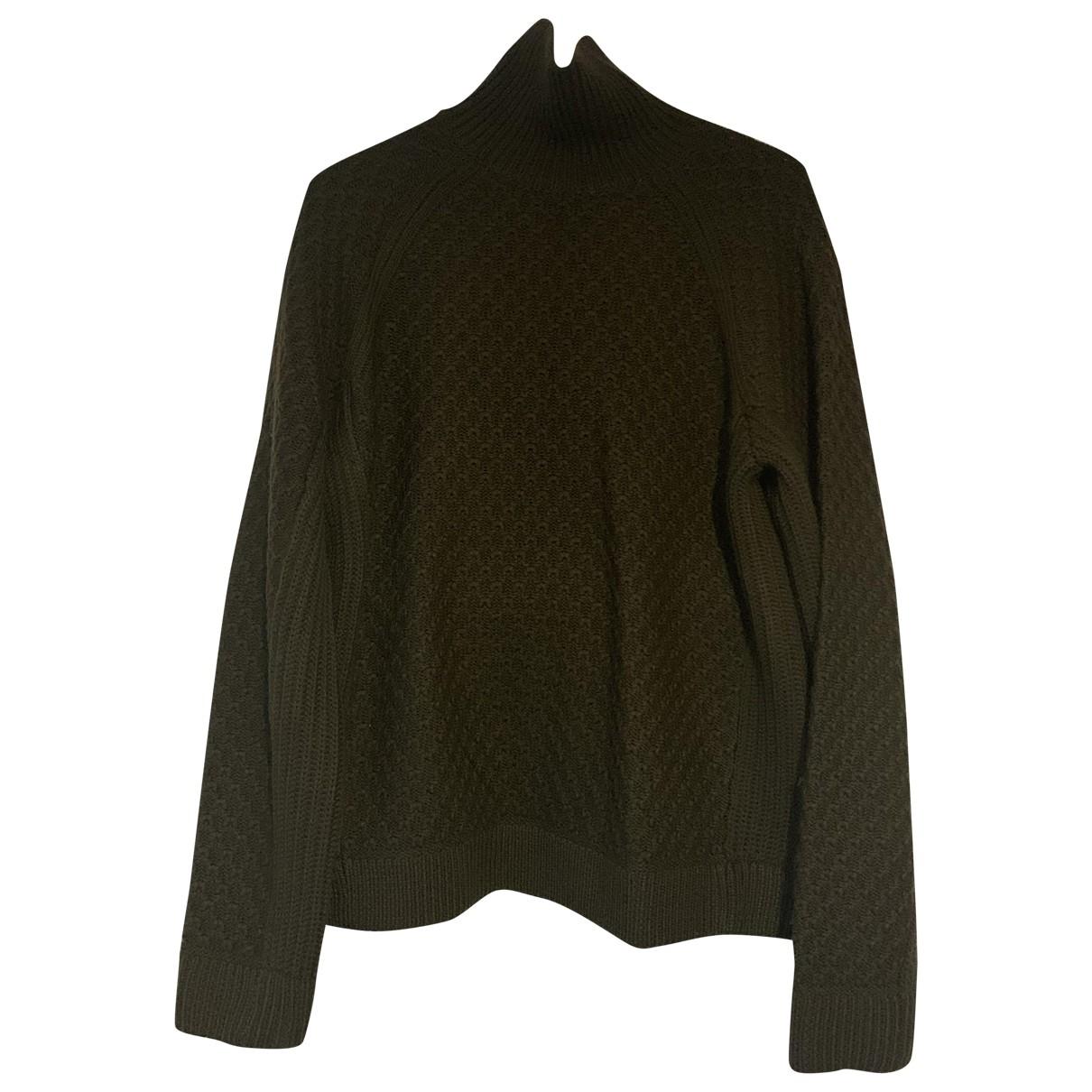 Neil Barrett \N Pullover.Westen.Sweatshirts  in  Gruen Wolle