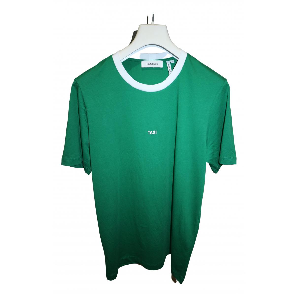 Helmut Lang - Tee shirts   pour homme en coton - vert
