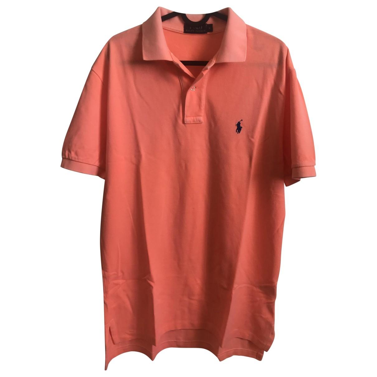 Polo Ralph Lauren - Polos   pour homme en coton - orange