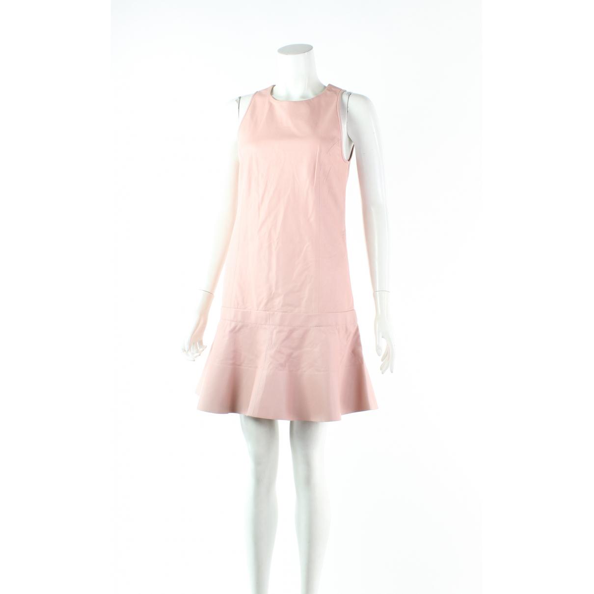 Balenciaga \N Kleid in  Rosa Leder