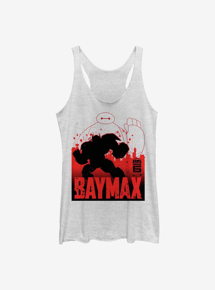 Disney Big Hero 6 Baymax Sil Womens Tank Top