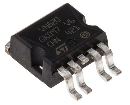 STMicroelectronics VN820B5-E High Side MOSFET Power Driver, 9A 5-Pin, P2PAK (5)